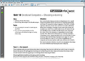 CUP InfoQuest English365 Book 3