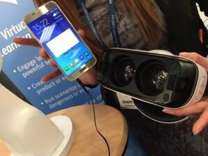 smart phone + goggles